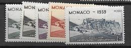 1939 MNH Monaco, Michel 200-4 Postfris** - Monaco