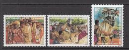 2000 Cote D'Ivoire Ivory Coast Masks Dance Culture Complete Set Of 3 MNH - Costa D'Avorio (1960-...)
