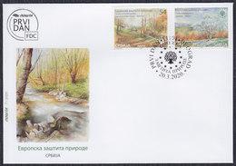Serbia 2020 European Nature Protection, FDC - Serbia