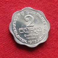 Sri Lanka 2 Cents 1975 KM# 138  *V2 - Sri Lanka