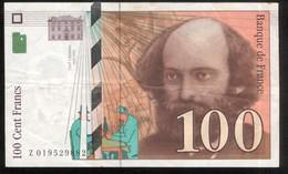 Billet 100 Francs France Cézanne 1997 Lettre Z - 1992-2000 Ultima Gama