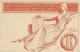 INAUGURATION DU MONUMENT COMMEMORATIF DE LA FONDATION DE L UNION POSTALE UNIVERSELLE 1909 - Ganzsachen