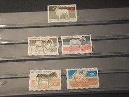 MALI - 1969 ANIMALI 5 3 VALORI - NUOVI(++) - Mali (1959-...)
