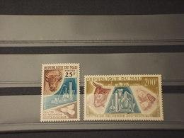 MALI - 1963 ZOOTECNICA 2 VALORI - NUOVI(++) - Mali (1959-...)