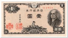 JAPAN,1 YEN,1946,P.85,AU - Japan