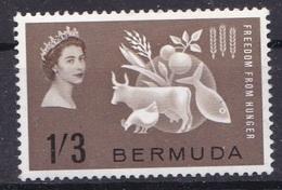 BERMUDA 1963 MLH- FREEDOM From HUNGER - Bermuda