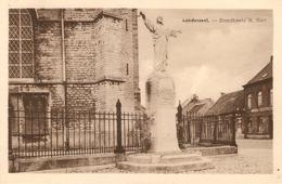 Londerzeel : Standbeeld H Hart  --- 1953 - Londerzeel