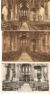 Londerzeel : Binnenzicht Kerk --- 3 Kaarten - Londerzeel
