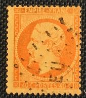 Timbre De France Classique N°23 Obl Expo-Universelle Sg Calves - 1862 Napoleone III