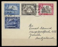 1951, Aden, 37-40, Brief - Emirats Arabes Unis