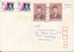Indonesia Cover Sent To Denmark 25-5-1985 - Indonesia