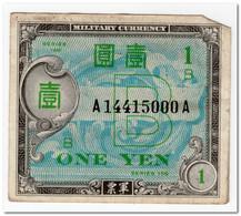 JAPAN,1 YEN,1945,P.67a,VF+ - Japan