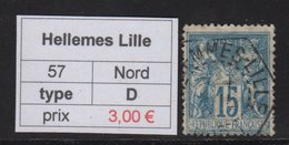 Hellemes Lille - Nord - Type Sage - 1877-1920: Periodo Semi Moderno