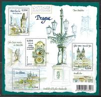 137 France BF 126 Capitales Européennes Prague N++ - Neufs