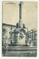 CATANIA - FONTANA DELL'ELEFANTE    VIAGGIATA FP - Catania