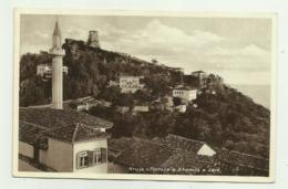KRUJA - FORTESA E XHAMIJA E SAJE -  VIAGGIATA 1936  FP - Albania