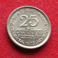 Sri Lanka 25 Cents 1975 KM# 141.1 - Sri Lanka