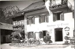 HOLZLEITEN Gasthaus Zur Traube 1957 - Autriche