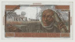 CA23 Billet De Guyane Française 5000 Francs Schoelcher UNC - Frans-Guyana