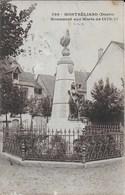 Montbéliard : Monument Aux Morts De 1870 - 1871 -  JCR 7 - Montbéliard