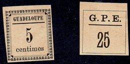 GUADELOUPE - FOURNIER Faux Essais De Surcharge - Guadeloupe (1884-1947)
