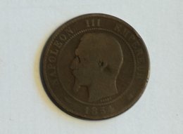 France 10 Centimes 1854 K - France