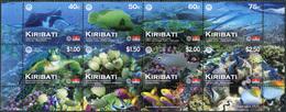 Kiribati 2012. Phoenix Island Protected Area (MNH OG) Block With Designed Fields - Kiribati (1979-...)