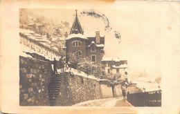 Envrions De MONTREUX (VD) Pension, 32 Rue Du Pont - CARTE PHOTO Année 1917 - VD Vaud
