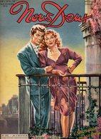 Nous Deux N°202 Roman-photos : Le Passé Inconnu, Amours Romantiques - Récits : L'ombre De Son Regard - Jeux De 1951 - Romantique