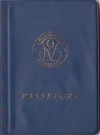 Passeport République Française Délivré à Abigjan, Prorogé Et Rectifié à Albi 6 Timbres Fiscaux + Cachets Tahiti, U.S.A., - Fiscaux