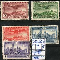 EUROPE:#SPAIN REPUBLIC#POSTAL CONGRESS#COMMEMORATIVE#1930>(ESP-260SP-3) (36) - 1931-50 Unused Stamps