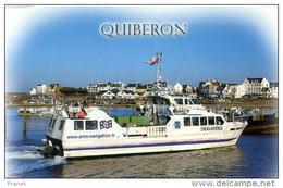 """CP56521 - QUIBERON - Port Maria - Arrivée Du """"Dravanteg"""" (Bateau à Passagers) - Quiberon"""
