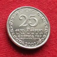 Sri Lanka 25 Cents 2002 KM# 141.2a - Sri Lanka