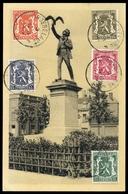 1936, Belgien, 415-17 U.a., Brief - Zonder Classificatie