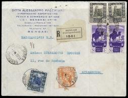 1924, Italienisch-Libyen, 71, 75 U.a., Brief - Non Classés