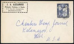 1938, Guyana, 179 A, Brief - Guyane (1966-...)