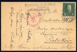 1915, Österreich Feldpost Allgemeine Ausgaben, 25 A, Brief - Autriche