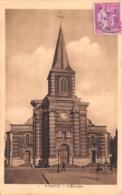 YVETOT L Eglise(SCAN RECTO VERSO)MA0043 - Yvetot