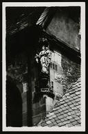 Bad Wimpfen Am Neckar  -  Skulptur / Statue An Einer Hausecke  -  Ansichtskarte Ca.1955   (10447) - Bad Wimpfen