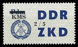 1964, DDR Verwaltungspost C Laufkontrollzettel ZKD, 53 V, * - [6] République Démocratique
