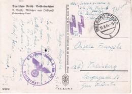 5560  AK--  SS  FELDPOST     BELGARD  -KRAINBURG --KRANJ  OBERKRAIN  1944 - Other
