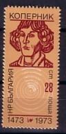 1973  COPERNIK   1v.-MNH  BULGARIA / Bulgarie - Unused Stamps