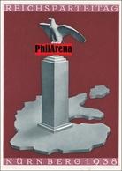 Propaganda Karte:  Reichsparteitag Nürnberg 1938 - Unclassified