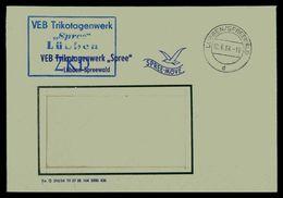 DDR ZKD Dienstbrief 1964 Siehe Beschreibung (205964) - [6] Repubblica Democratica