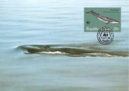 1983 - PALAU (Belau Ou Pelew) -   Fin Whale   - Baleine WWF - Palau