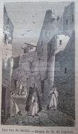 Old View Of  Metlili, - Algeria , Algerie -gravure-engraving 1863 TDM1863.2.174.2 - Prints & Engravings