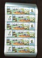 Belgie 1988 2273/76 F2273/76 Sea Birds Ship Neptunus Mermaid Lighthouse Volledig Vel Plaatnummer 1 31447 - Full Sheets