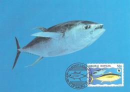1997 - NAURU - THON à Nageoires Jaunes - Yellowfin Tuna (Thon à Najoires Jaunes) WWF - Nauru