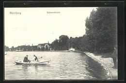 AK Nürnberg, Ruderboot Auf Dem Dutzendteich - Nuernberg