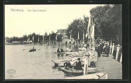 AK Nürnberg, Ruderboote Auf Dem Dutzendteich - Nuernberg